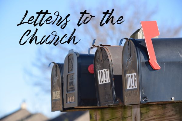 Letters to the Church - Title Slide